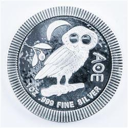 OWL - Stacker .9999 Fine Silver 1oz Round