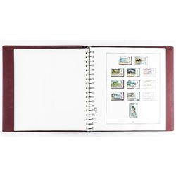 Estate Jersey - Channel Islands Stamp  Collection 'Red Lidner Album'