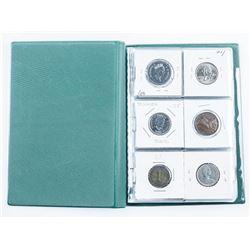 Starter Coin Book 18 Coins includes Silver