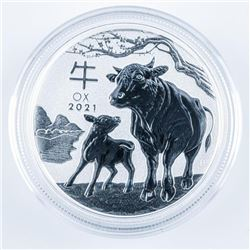 2021 Year of the OX - 50 Cent Coin