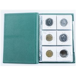 Starter Coin Collection 18 Coins, Album with  Silver