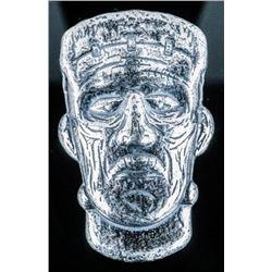 Frankenstein Skull Collector Bullion .999  Fine Silver 1 1/2 Troy Ounce