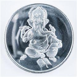 GANESHA .999 Fine Silver Round 1oz ASW
