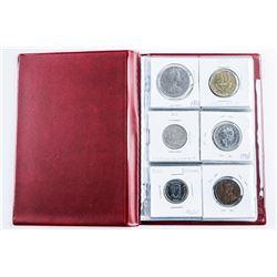 Starter Album - Coin Collection with 18 Coins