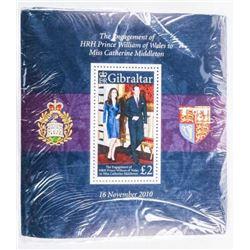 Gibraltar Unopened Post Office Pack, 500pcs  2011 L2 Face Value Ea. CAT Stanley Gibbons  L8.50 eac.