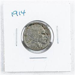 1914 USA Five Cents: Indian/Buffalo