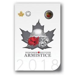 RCM 2018 - Armistice Coin Folio, Red Poppy  Toonie
