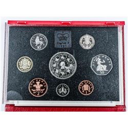 Great Britain 1993 Proof Set 8 Coins