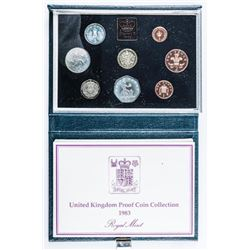 Great Britain - 1983 Proof Set 8 Coins