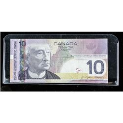 Bank of CANADA 2005 10.00 Radar note
