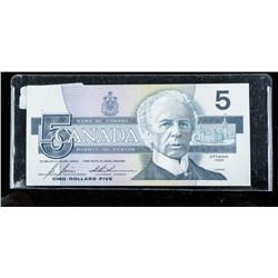Bank of CANADA 1986 5.00 (GNZ) Choice UNC