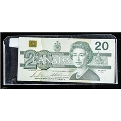Bank of Canada 1991 20.00 Choice UNC with BPN  (EVD)