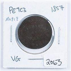 1857 Token, PE 1C3 BR919 (VG)