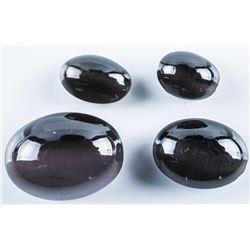 Loose Gemstone Parcel Genuine Sillimanite  Cabochon Ovals