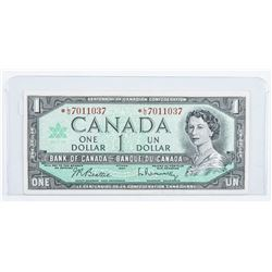 Bank of Canada 1967 1.00 *Replacement (L/O)