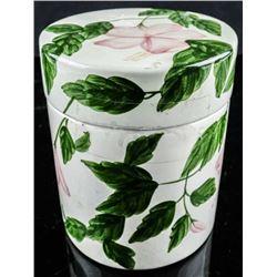 Porcelain Jar Hand Painted