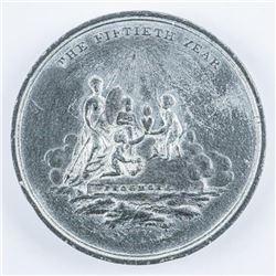 1810 Medal George III - Golden Jubilee 50  Year Reign (OER)