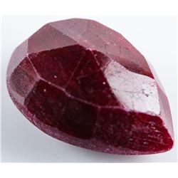 Loose Gemstone 8.22ct Pear Cut Ruby.  Appraised : $2470.00