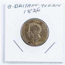 Great Britain 1826 Token
