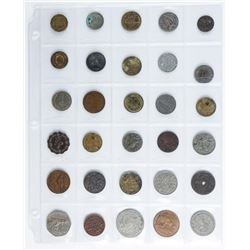Group (30) Foreign Coins