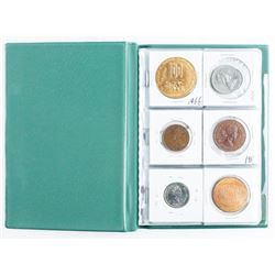Stock Book Coins 18 Assorted with Silver