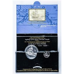 RCM 1779-1999 925 Sterling Silver Dollar