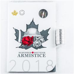 Remember D-DAY June 6, 1944 RCM 2018  Armistice Coin Folio, UNC, Plus Mint Roll  2018 Special Issue