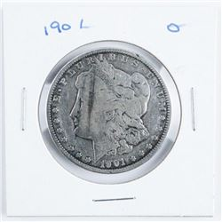 1901 USA Silver Morgan Dollar