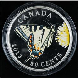 RCM 2013 Butterflies of CANADA 50 Cents