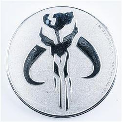 2020 Star Wars - Mandalorian Mythosaur .999  Fine Silver Coin 1oz