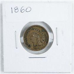 1860 USA Indian Head VF30