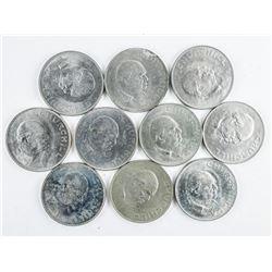 Estate Lot (10) Winston Churchill 1965 Coins