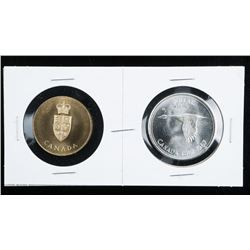 1867-1967 Silver Dollar and Medallion