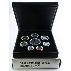 RCM 2001 Premium Proof Coin Set, Includes PL  and .999 Fine Silver Maple Leaf 5.00