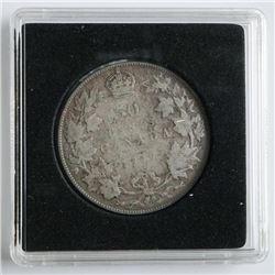 1917 Silver Canada 50 Cent