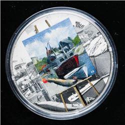 EN PLEIN - Maritime Memories .9999 Fine  Silver $20.00 Mintage 5000 1oz ASW
