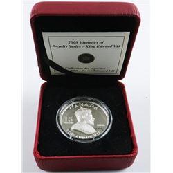 RCM Vignette of King Edward VII 925 Sterling  Silver $15.00 LE/C.O.A.