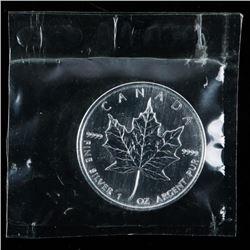 RCM 2007 Maple Leaf 5.00 Coin Original Mint  Wrap