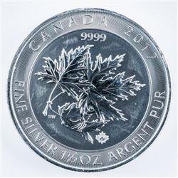 RCM - 999 Fine Silver $8.00 Coin Super Maple  Leaves