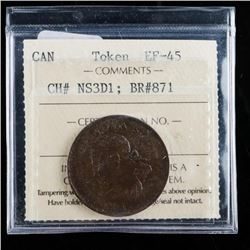 CANADA Token EF-45 CH# NS3D1: BR#871 ICCS