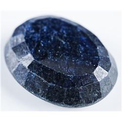 Loose Gemstone 22.30ct Oval Cut Blue  Sapphire. Appraised: $6690.00