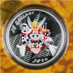 RCM/Warner Bros - Looney Tunes Merrie  Melodies .999 Fine Silver $20.00 Coin