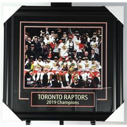 Toronto Raptors Champions 2019 Collector  Frame 30x31""