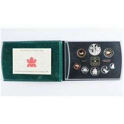 1974 RCM Prestige Coin Set Specimen, Leather  Case