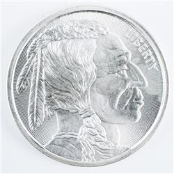 Indian Head/Buffalo .9999 Fine Silver 1oz  Round