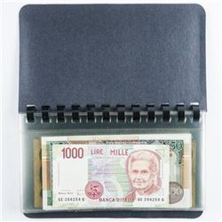 World Banknote Collection - Currency Album