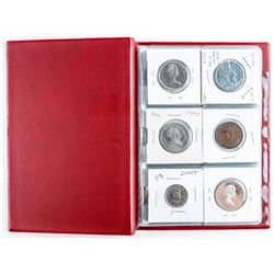 Starter Coin Collection with 18 Coins, Stock  Book.
