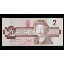 Bank of Canada 1986 2.00 (BBP) Small Choice  UNC BC-55B