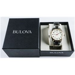 Gents BULOVA Watch 2 Tone 'NEW' May Need  Battery