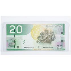 Bank of Canada 2004 20.00 Radar Note